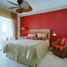 bedroom decor ceiling fan. Dazzling Sea Coral Bedding Trend Miami Tropical Bedroom Decorating Ideas With Accent Color Decor Ceiling Fan