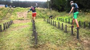 race log spartan race beast klinovec 2014 log hop