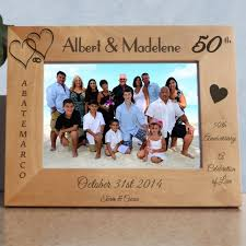 personalized wedding anniversary frame