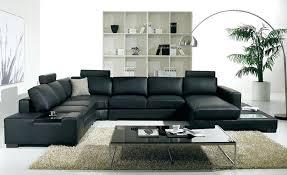 black leather sofa black leather sofa modern large size u shaped sofa set with light coffee black leather sofa