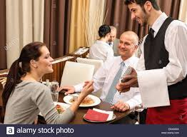 restaurant waiter taking order. Wonderful Restaurant Business Lunch Waiter Taking Order At Restaurant  Stock Image On Restaurant Waiter Taking Order O