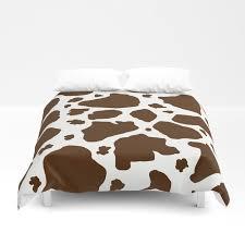 cow spots animal print dark chocolate