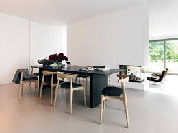 modern kitchen table. Terrific Modern Kitchen Table Tables With Black Chairs : SayLeng E