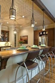 pendant lighting for bars. Elegant Hanging Lights Over Breakfast Bar And For Kitchen Pendant Lighting Ideas Awesome Bars B