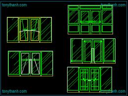 creative glass door cad block aluminium door autocad drawing