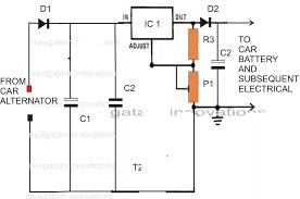 wiring diagram of car alternator the best wiring diagram 2017 alternator voltage regulator circuit diagram at Automotive Alternator Wiring Diagram