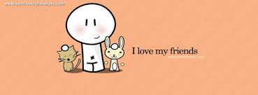 Love My Friends Quotes Adorable I Love My Friends Best Profile Cover For Facebook
