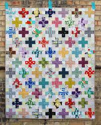 Best 25+ Plus quilt ideas on Pinterest | Baby quilt patterns ... & The Scrappy Plus Quilt Pattern is now an instant PDF download! Fun with low  volume Adamdwight.com