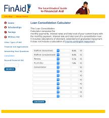 student loan caluclator student loan consolidation vs student loan refinancing