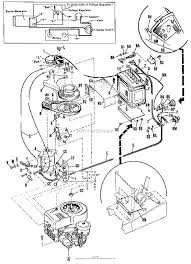 Diagram for frame inside simplicity 990304 electric starter generator for broadmoor parts throughout wiring