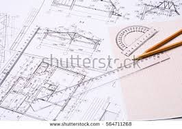 architectural design drawing. Perfect Architectural Workplace Of Architect Architectural Design Sketch Drawing Paper  Drawings Simple Pencil With Design Drawing