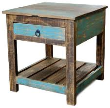 end table. Crafters And Weavers - Taos End Table Side Tables