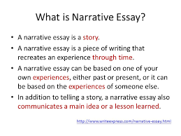 narritive essay unit 3 narrative essay ppt video online download