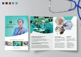 brochure template medical brochure templates 41 free psd ai vector eps indesign