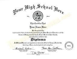 High School Diploma Certificate Template Fake Automotive Online Free