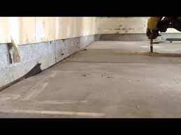 how to level a garage doorGarage Floor Lift  YouTube
