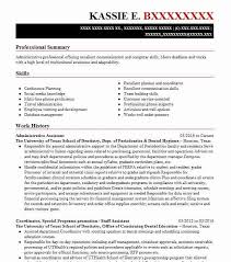 skills to put on resume for administrative assistant best administrative assistant resume example livecareer