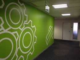 office wall designs. Office Wall Designs Decal Brain Teamwork Gear Decor Stickers Rhpinterestcom Good Artwork Ideas With Amazing Design .