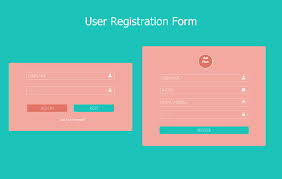 Registration Page Html Template Form Websites Omfar Mcpgroup Co