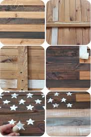 diy planked american flag at maisondepax com tutorial patriotic july4 decor
