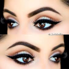 beautiful eye makeup for black eyes 1343