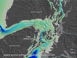 Bathymetric Chart Of Southern Vancouver Island And The