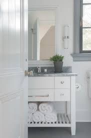 bathroom features gray shaker vanity: brooks amp falotico design photo by jane beiles