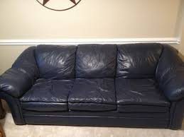 blue leather chair. Baffling Navy Leather Chair And Ottoman Images Concept Blue Sofa