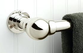 art towel bar bathroom exposed bars glass thomas o brien towels bathrooms on a budget ideas