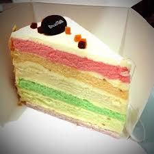 Rainbow Cake Breadtalk Roti Kue Pluit Jakarta Opensnap