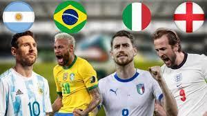 موعد مباراة البرازيل ضد الأرجنتين نهائي كوبا امريكا 2021 ومباراة إنجلترا ضد  إيطاليا يورو 2020 - YouTube
