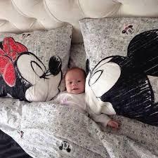 mickey mouse black grey bedding set