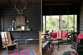Small Picture Modern Rustic Wood Cabin Vacation Home Interior Design