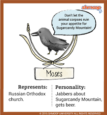 moses a raven in animal farm some of that old time religion
