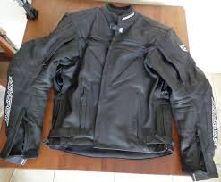 a photograph showing the agv sport willow leather jacket which is one of the est motorcycle