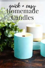 Diy Candles Diy Candles Concrete Candleholders Love Renovations