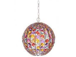 picture of pendant lamp gypsy round multi colour sy101596mc