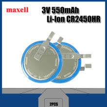 2PCS Brand new original <b>Maxell</b> CR2450N <b>high</b> temperature battery ...