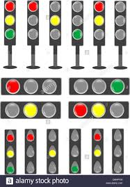 Bar Stop Light Traffic Light Status Bar Semaphore Vector Stock Vector