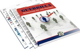 guerrilla resumes guerrilla resume e book as featured on wsj guerrilla marketing