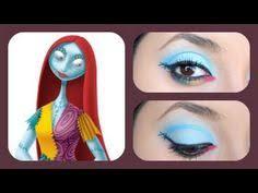 disney sally nightmare before inspired makeup tutorial