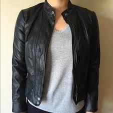 bernardo jackets blazers women s bernardo faux leather jacket