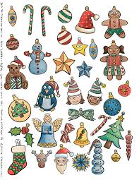 Get in the christmas spirit with these fun christmas ornament coloring sheets! Free Printable Color Ornaments Cut And Paste Your Christmas Tree Print Cut Paste Craft