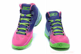 under armour basketball shoes girls. girls under armour ua curry 2 pink blue green basketball shoes t