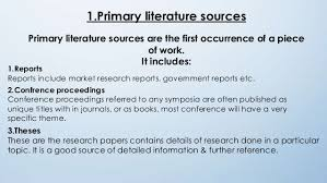 Ways to Do a Literature Review   wikiHow Differentiating between Primary and Secondary Sources in the Sciences