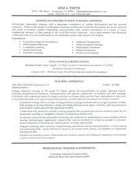 Job Responsibilities Of A Teacher Resume Pro