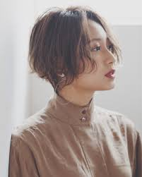 Drive For Garden 竹澤優髪型 ヘアスタイル ショート 黒髪 前髪 ひし形