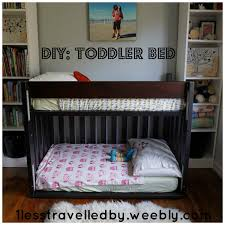 Pinterest can be my greatest asset or my worst enemy. In this case, I feel  pretty pleased with my pinterest inspiration for my toddler's bed.