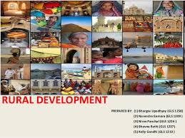 rural development in  rural development prepared by 1 bhargav upadhyay gls