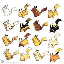 Rattata Evolution Chart Pikachu Variants See Also Luvdisc Pidove Rattata Sliggoo